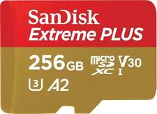 SanDisk Extreme Plus 256GB microSDXC Class 10 Speicherkarte A2