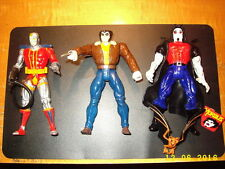 Marvel Wolverine with Brown Jacket, Deathlock, Morbius The living Vampire MINT