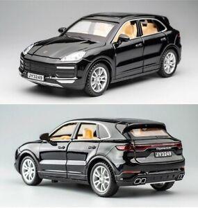 Porsche Cayenne Turbo - 1:32 Car Model Diecast Toy Vehicle - BLACK Paint