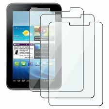 "3x Clear Screen Protector Film For Samsung Galaxy Tab 2 7.0 7"" Tablet P3100 NEW"