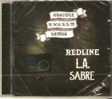 Obscure NWOBHM Demos (CD) 2019. .Redline . L.A. Sabre. NWOBHM