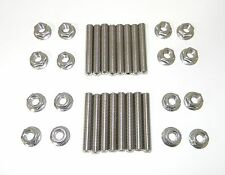 Ford 1991 - Up Modular 40mm Exhaust Header Stud Set Stainless Steel 16 Pcs. NEW