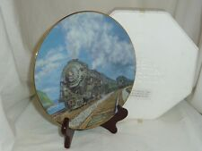New York Central 4-6-4 Hudson by Ted Xaras Historic Railways plate collection