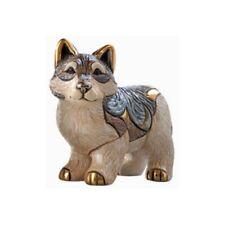 Artesania Rinconada Hand Crafted Ceramic Wolf Figurine Ltd Ed Uruguay