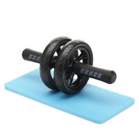 Ab Wheel Roller Exercise Knee Mat For Abdominal Fitness Equipment Training Tool