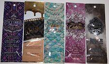 LOT SET 5 Designer Skin Black Dahlia, Astonish, Cherish, Worship Worthy, Command
