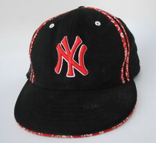 NEW YORK YANKEES MLB Baseball Cap Hat YOUTH One Size Stretch Fit Flat Bill