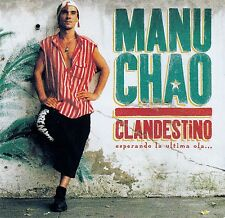MANU CHAO : CLANDESTINO / CD