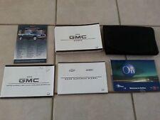 2008 GMC Sierra 3500 Duramax owners manual set