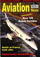 AVIATION NEWS 70/03 MAR 2008 USAF Bomber,Aerion SBJ,RAF V-Bombers,Allegheny