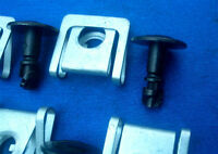 10tl. 5x Motorschutz Schraube Unterfahrschutz Halteklammer Audi Skoda 144C 144B