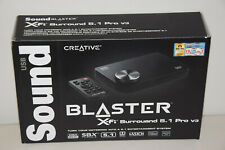 Creative Sound Blaster X-Fi Surround 5.1 Pro USB Audio System SBX Multi-Language
