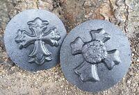 GOSTATUE MOLDS 2  plastic cross molds moulds plaster concrete resin wax