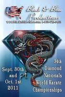 2011 Diamond Nationals World Karate Tournament DVD