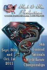 2011 Diamond Nationals World Karate Tournament DVD