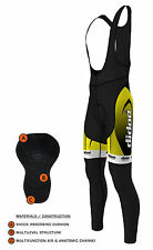 Didoo New Mens Cycling Bib Tights Winter Thermal Wear Long Pant Biking Trouser