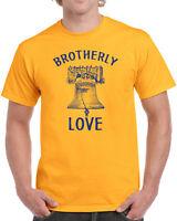 296 Brotherly Love mens T-shirt philly philadelphia pride vintage retro