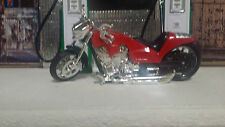 Motorcycle Low Rider 1:18 Showcasts Red Diecast Metal & other material