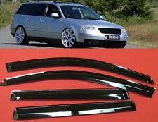 VW Passat B5 Wagon SMOKE TINT WINDOW VISOR SHADE/VENT WIND/RAIN DEFLECTOR 4pcs