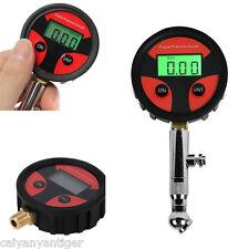 Portable Tire Accessories LCD Digital Tyre Air Pressure Gauge Tester Car Motor