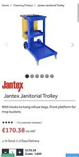 More details for jantex janitorial cleaning trolley