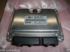 Original VW Bora Golf Engine Control Unit Axp 036906032S 036997032J New