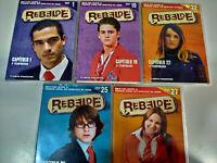 RBD Rebelde Capitulos 1-17-19-22-25-27 + Extras 6 X DVD 2007 Español Region 2