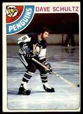 1978-79 O-Pee-Chee Dave Schultz #225