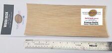 """Uncut 5x12 inch UNCUT wood deck with 1/32"""" plank detail by Scaledecks.com"""
