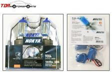 NOKYA Halogen Light Bulbs+Wire Harnesses 9004 HB1 Cosmic White 5000K 100/80W
