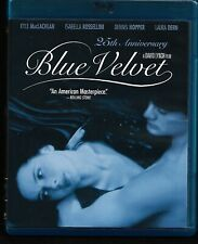 Blue Velvet Blu-ray David Lynch Dennis Hopper Includes 45 Minutes Lost Scenes