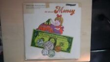 Children's Listen, Sing & Learn Record Library ALL ABOUT MONEY + Music Book 1966