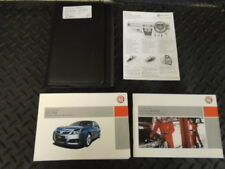 2004 VAUXHALL VECTRA 2.0 DTi LS 5DR OWNERS MANUAL HANDBOOK WITH WALLET