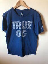 JORDAN Retro 3 True OG T-Shirt sz M Medium True Blue Elephant Print III