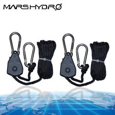 1 Pair Rope Ratchet YOYO Hanger for LED Grow Light Fan Carbon Filter Hydroponics