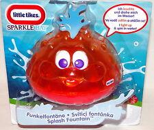LITTLE TIKES Sparkle Bay Funkelfontäne gelb Badespaß für Kinder Spielzeug NEU/OV