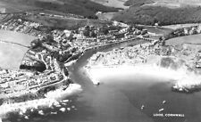 Looe,Cornwall,Aero Photographic View.Good Condition.See Scans