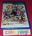 DISGAEA 4 A PROMISE REVISITED SONY PS VITA NEUF BLISTER TRES ABIME 100% FRANCAIS