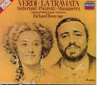 Verdi: La Traviata / Bonynge, Sutherland, Pavarotti - CD