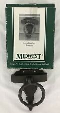 Midwest of Cannon Falls Door Knocker Bottom Interchangeable Cast Iron New In Box