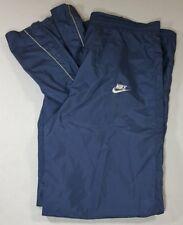 VTG NIKE Pants Blue Tag Medium Track Windbreaker Warm Up Jogging 80's 90's
