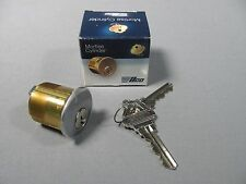 "Kaba Ilco 7206SC1-26D-KD Brass Mortise Cylinder 1-1/4"" Length / Key Included"