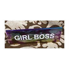 Girl Boss desk sign