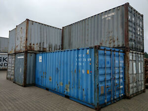 20 Fuß Lagercontainer, Lagerbox 20`, Container, Seecontainer, Garage, Lager, Box