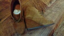 Scholl  Tan Wedge Ankle Boots Size 4. New