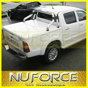 Dual Cab Hard Cover / Flat Lid / Tonneau Cover Fits Toyota Hilux (2005-2014)