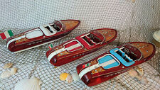 "20"" Riva Aquarama Display Wooden Model Boat"