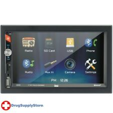 PE 7-Inch Double-DIN In-Dash Mechless Receiver with Bluetooth(R)