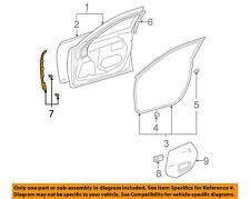 lexus toyota oem 07-12 es350 front door-front weatherstrip seal right  6786533010