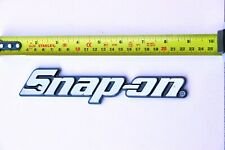 """Snap on Tools Toolbox Logo Nameplate Brand New w/ Mounting Adhesive 7 3/4"""" Long"""